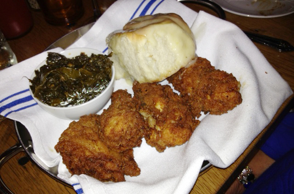 Fried Chicken at The Pearl.