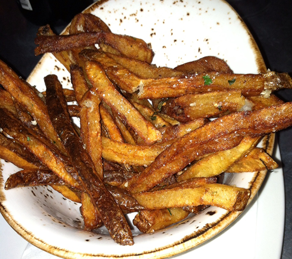 The fresh house cut fries at The Sycamore in Columbus' German Village. Photo: Steve Stover