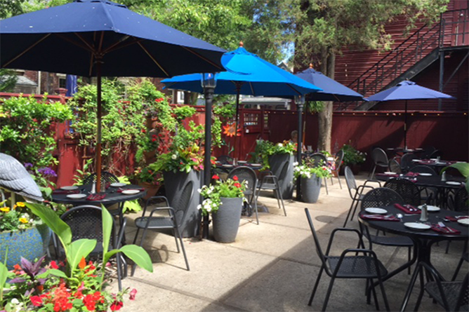 The patio at Barcelona in German Village & Columbusu0027 Best Outdoor Eating Experiences | WOSU Public Media