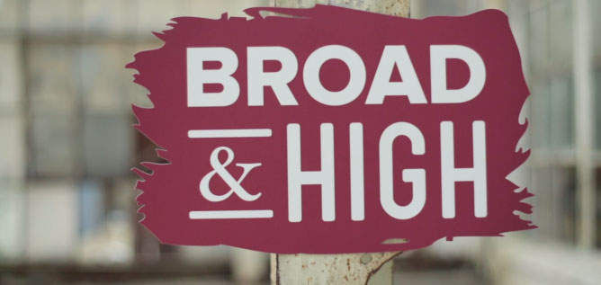 Broad & High logo