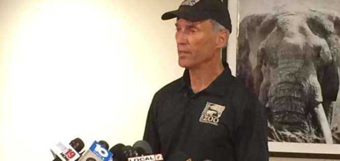 Cincinnati Zoo Director Thane Maynard says the Zoo is a safe place and it is regularly reviewing safety. WCPO