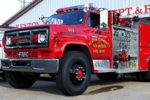Kenton Fire Truck