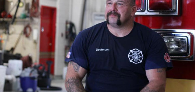 Middletown Lt. Bryan Oliver says calls for fires are rare, but his station responds to several overdoses each day.