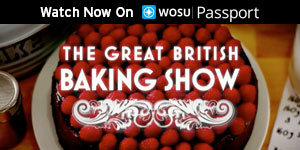 Watch Now on WOSU Passport, The Great British Baking Show
