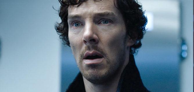 Benedict Cumberbatch in Sherlock Season 4.