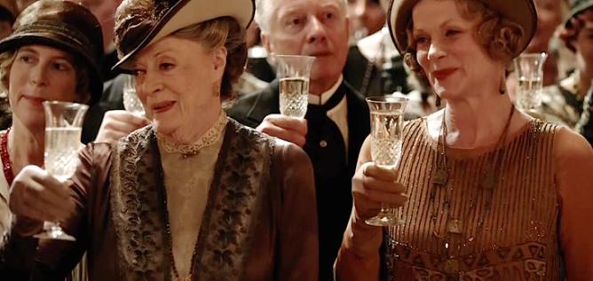 Downton Abbey toast