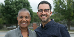 Columbus Neighborhoods hosts Charlene Brown and Javier Sanchez.