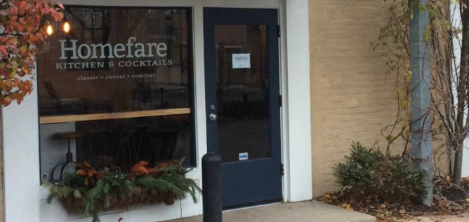 Chef Matthew Litzinger has opened HomeFare in the former L'Antibes space in the Short North.