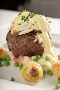 The Oscar at The Top Steakhouse. Photo: Jodi Miller Photography
