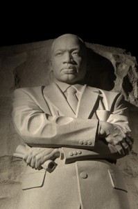 Statue of Dr. Martin Luther King, Jr. Photo: Scott Abraham/Flickr