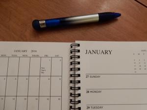 January in Calendar