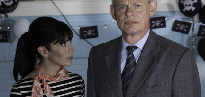 Louisa and Martin on Doc Martin
