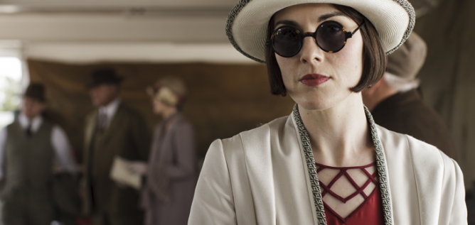 Lady Mary on Downton Abbey. Photo: Nick Briggs/Carnival Film & Television Limited