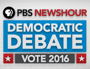 PBS Newshour Democratic Debate - Vote 2016