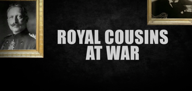Royal Cousins at War Photo: BBC