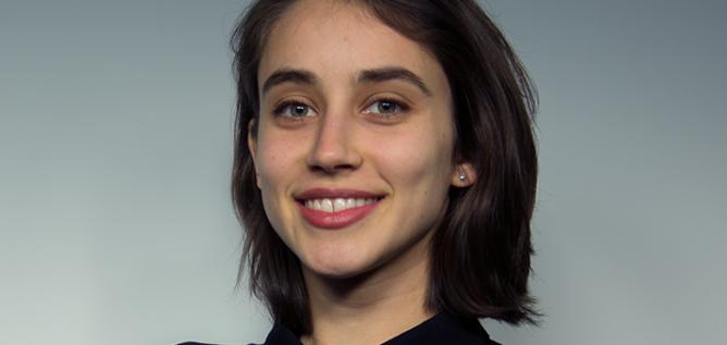 89.7 NPR News reporter Esther Honig.