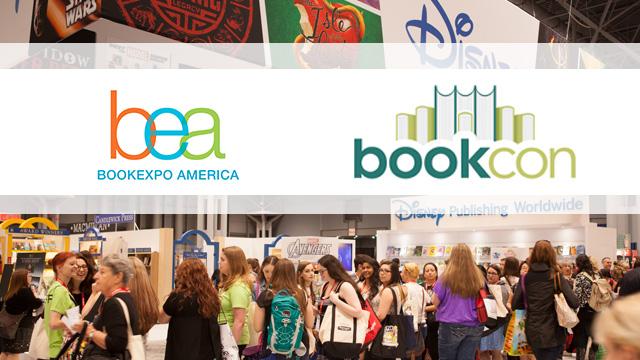 Book Expo of America and Bookcon