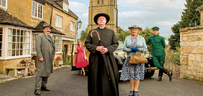 Father Brown Season 4 cast photo
