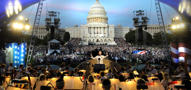 Maestro Jack Everly will lead the National Symphony during the 27th annual broadcast of the NATIONAL MEMORIAL DAY CONCERT, live from the West Lawn of the U.S. Capitol.