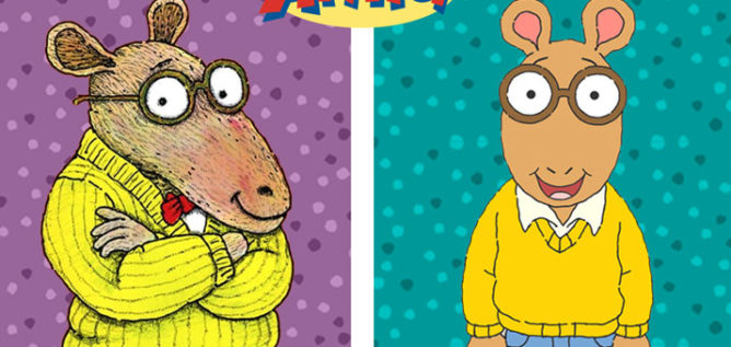 Arthur old and new.