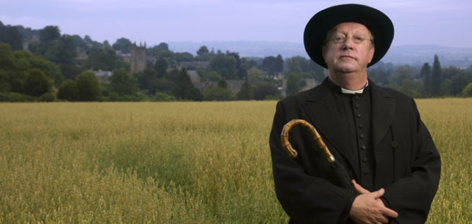 Mark Williams is Father Brown.