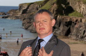 Martin Clunes as Dr. Martin Ellingham in Doc Martin.