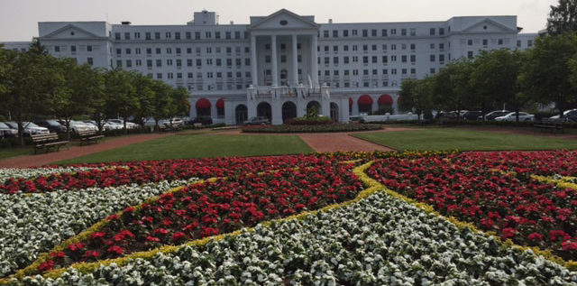 The Greenbrier Resort in West Virginia features 20 restaurants and lounges. Photo: Steve Stover