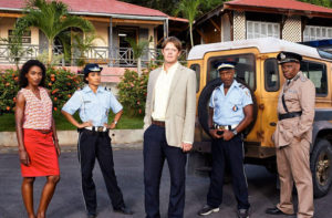 The cast of Death in Paradise Season 4.