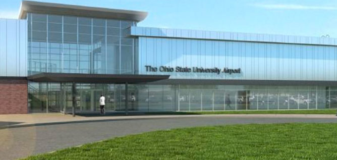 Construction of the new Ohio State University airport is set to begin in July 2017. OHIO STATE UNIVERSITY