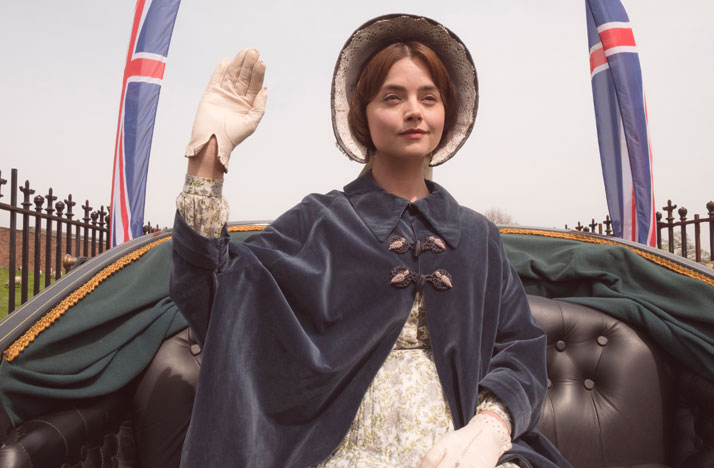 Jenna Coleman as Victoria. Photo: ITV Plc