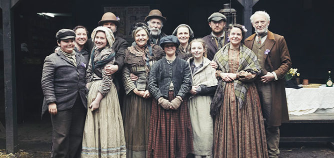Participants on Victorian Slum House. Photo: Courtesy of Wall To Wall Media Limited.