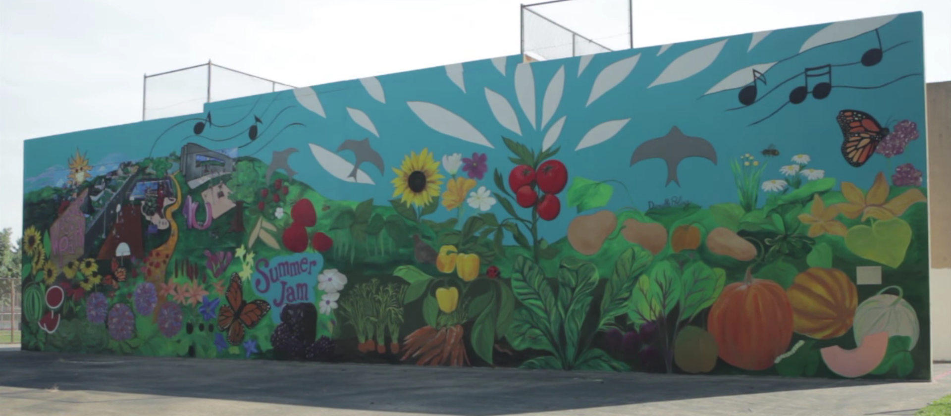 Top 10 stories from broad high season 4 wosu public media for Mural garden
