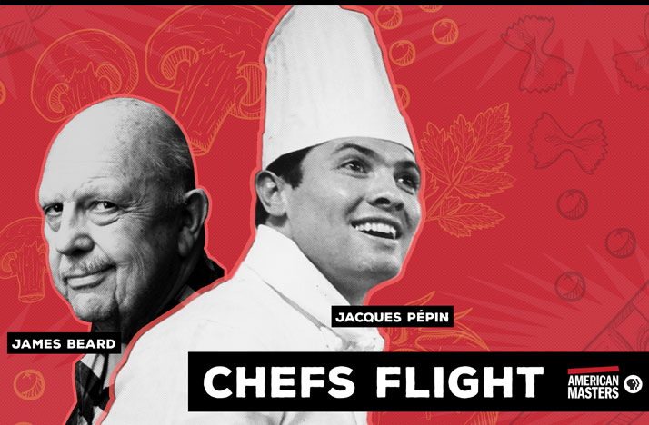 James Beard and Jacques Pépin