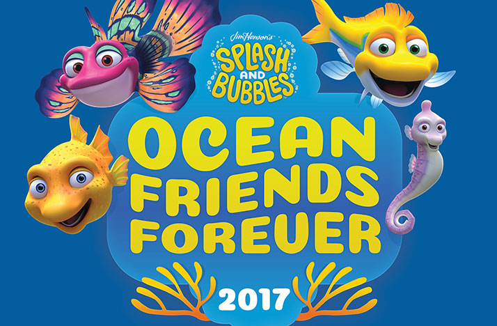 Splash and Bubbles Ocean Friends Forever 2017