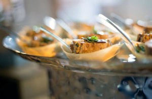 Food featured at the 2016 Taste The Future Event