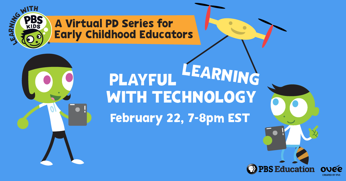 Free Virtual PD with PBS KIDS!