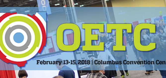 Stop by booth #119 at OETC!