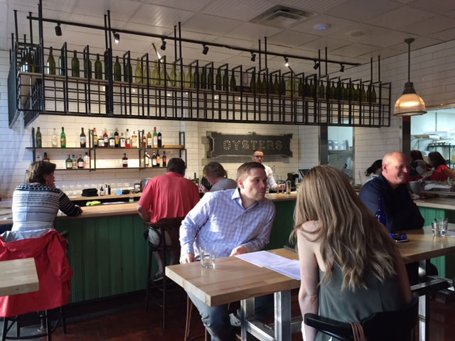 The interior of Lupo in Upper Arlington.