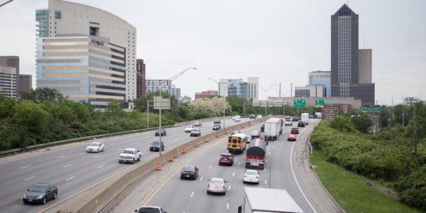highway in Columbus GABE ROSENBERG / WOSU