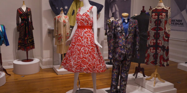 Costumes from Paramount Pictures exhibit at the Decorative Arts Center of Ohio.