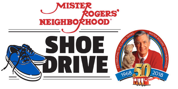 Mister Rogers' Neighborhood Shoe Drive
