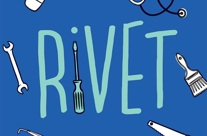Rivet podcast logo