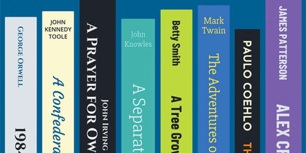 Graphic of books