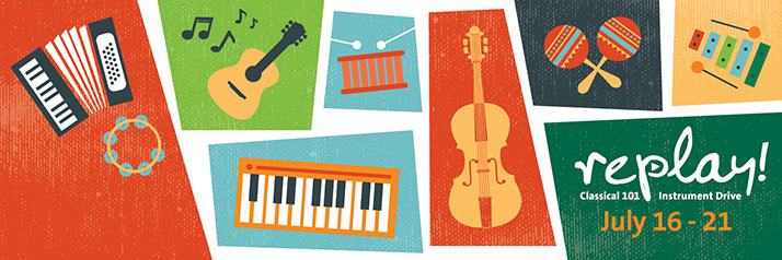 Replay Classical 101 Instrument Drive July 16-21.