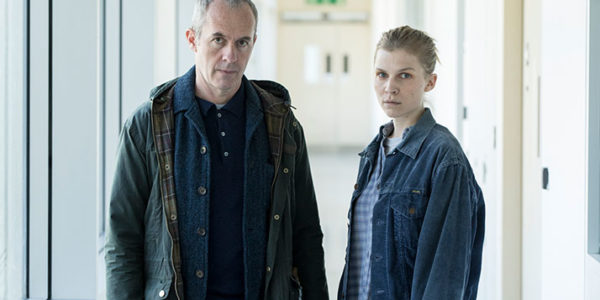 Stephen Dillane as Karl and Clémence Poésy as Elise in The Tunnel: Vengeance