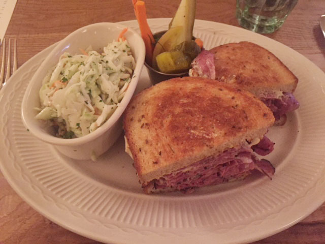 Harvey and Ed's Sandwich with Coleslaw