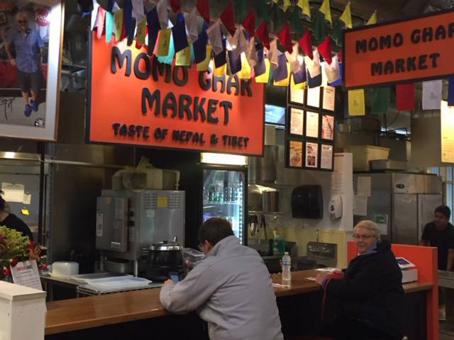 Momo Ghar Market at the North Market in Columbus