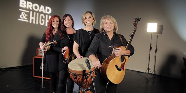 Ladies of Longford band members