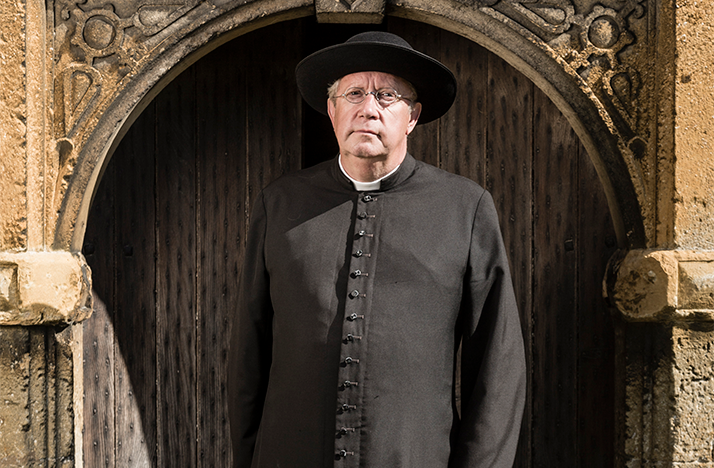 Mark Williams returns for a seventh season of Father Brown.