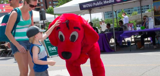 Clifford at the Columbus Arts Festival